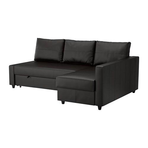 FRIHETEN Hoekslaapbank  Bomstad zwart   IKEA