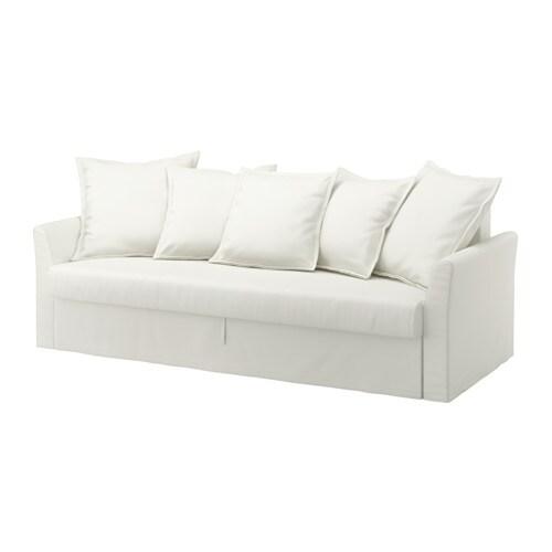 HOLMSUND 3zits slaapbank  Ransta wit  IKEA