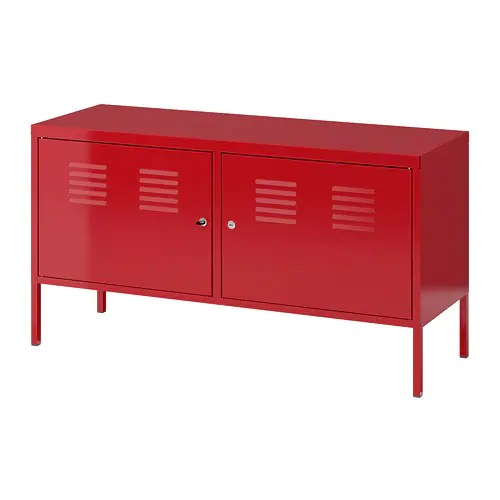 IKEA PS Kast  rood  IKEA