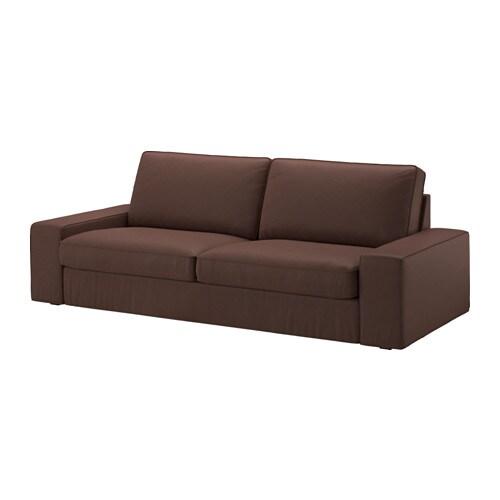 KIVIK 3zitsbank  Borred donkerbruin  IKEA