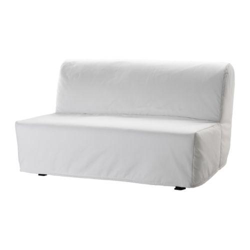LYCKSELE LVS 2zits slaapbank   Ransta wit  IKEA