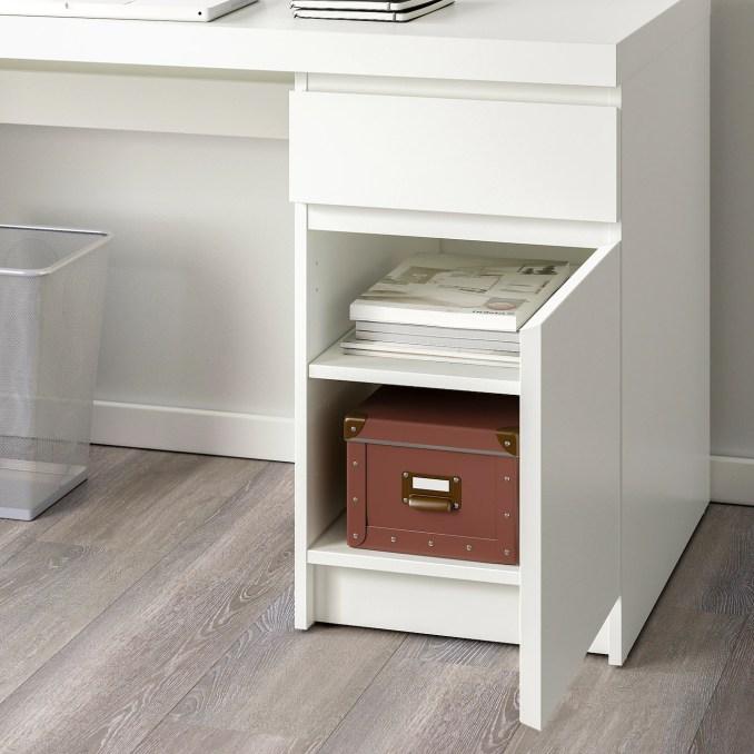 Malm Bureau Wit 140x65 Cm Ikea