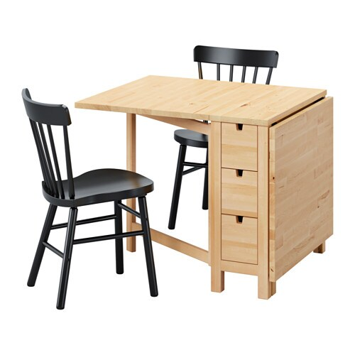 NORDEN  NORRARYD Tafel met 2 stoelen  IKEA