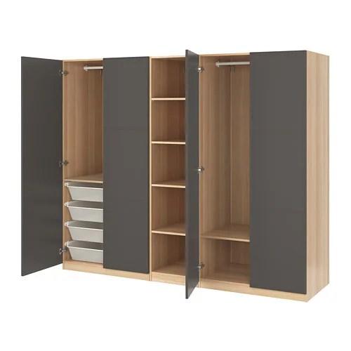 PAX Kledingkast  250x60x201 cm  IKEA