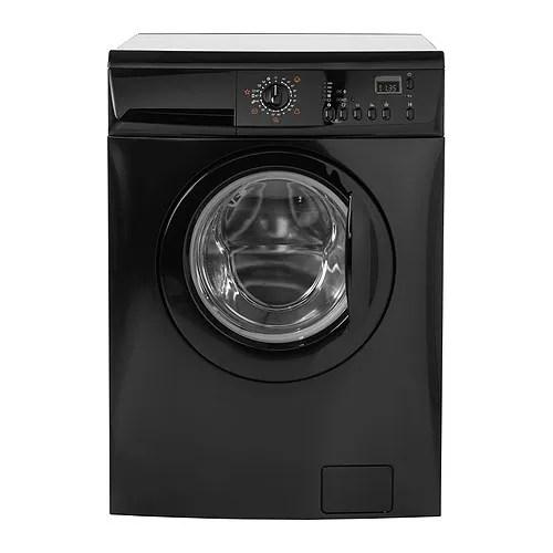 RENLIG FWM7 Wasmachine  zwart  IKEA