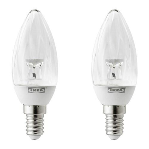 RYET Ledlamp E14 100 lumen  IKEA