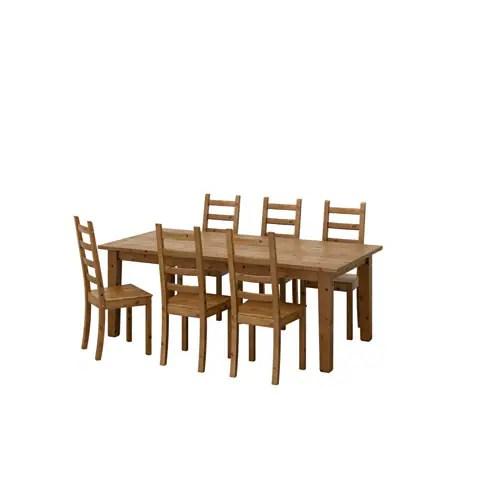 STORNS  KAUSTBY Tafel met 6 stoelen  IKEA