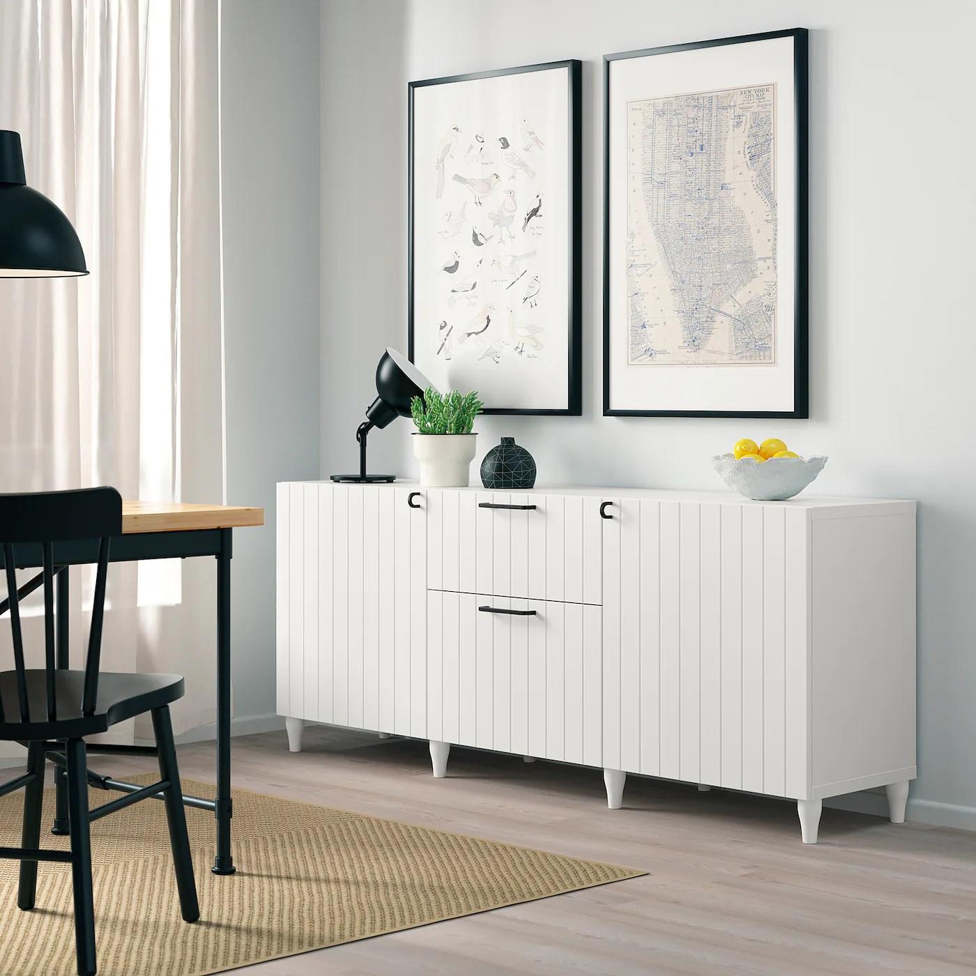 BESTÅ Kommode   hvit/Sutterviken/Kabbarp hvit   IKEA