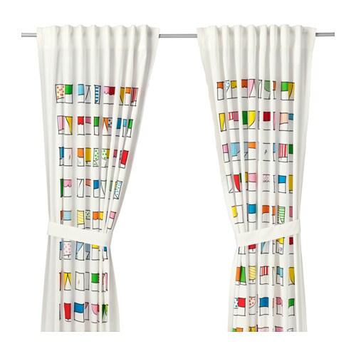 HEMMAHOS Zasona z wizaniem 2 szt  IKEA