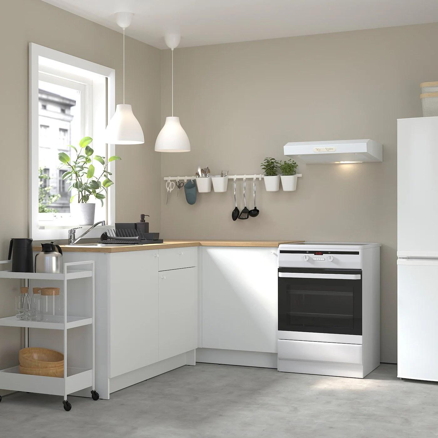 KNOXHULT Corner kitchen   white   IKEA