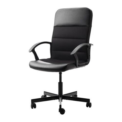 FINGAL Arbetsstol IKEA Du sitter bekvämt tack vare att stolen går att justera i höjd.