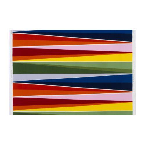 SUSANNA Metervara, flerfärgad Bredd: 150 cm Mönsterhöjd: 64 cm