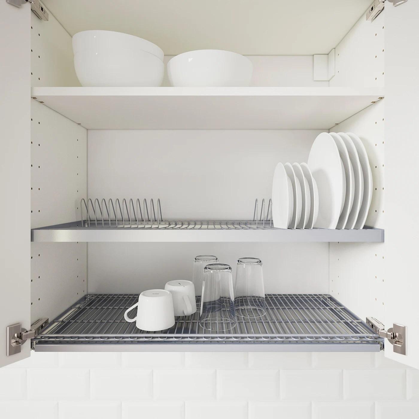 utrusta dish drainer for wall cabinet 80x35 cm