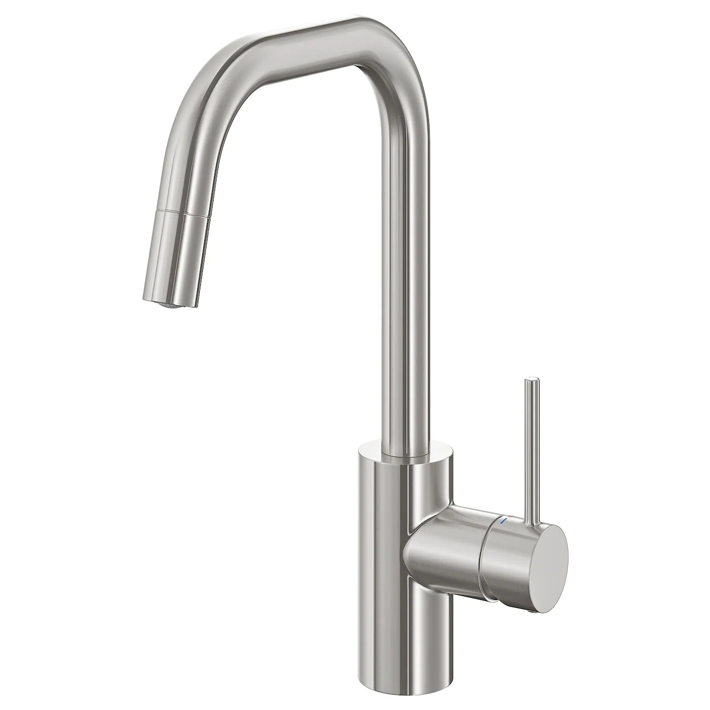 almaren kitchen faucet with pull out spout stainless steel color