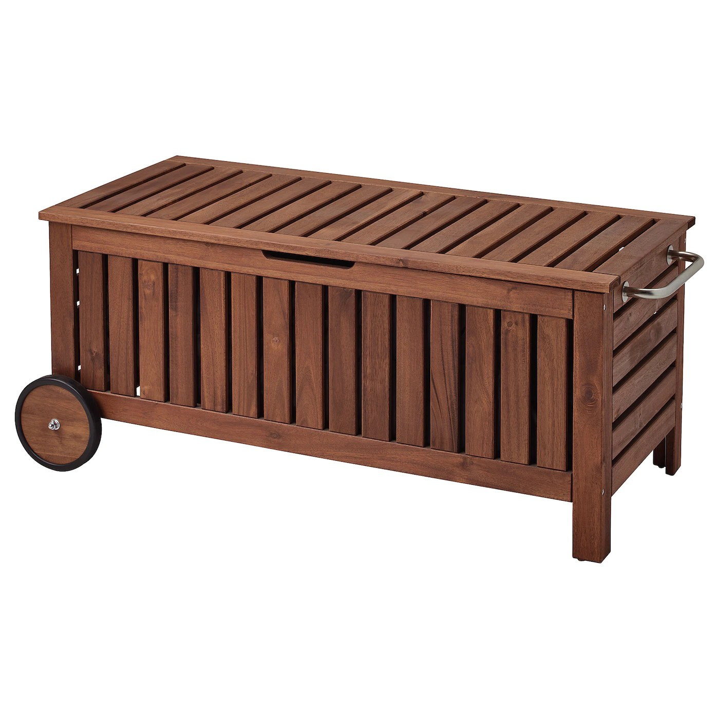 outdoor storage benches boxes