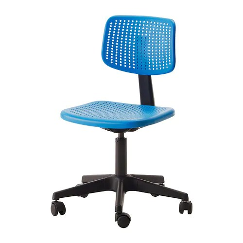 blue office chair royal dining chairs alrik swivel ikea