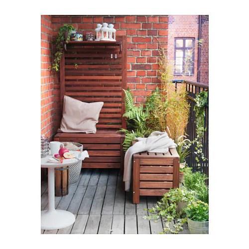 PPLAR Storage Bench, Outdoor IKEA - IKEA Applaro