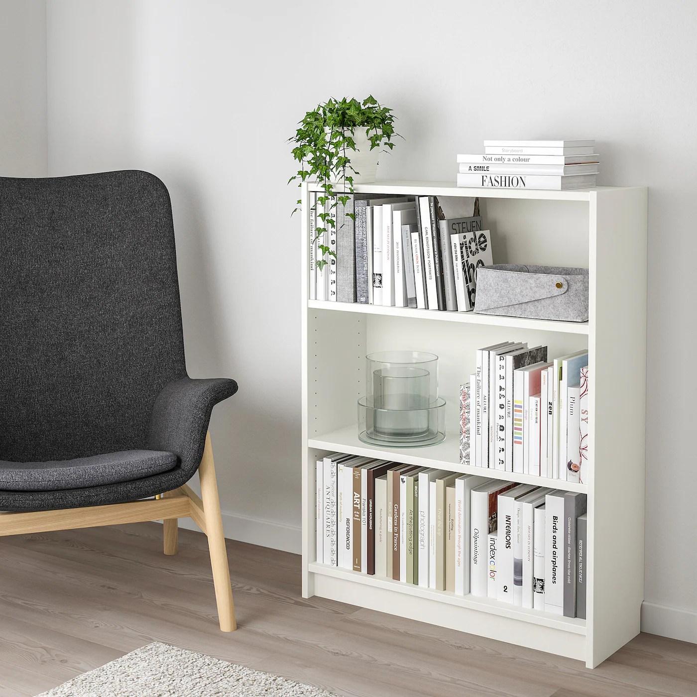 """BILLY Bookcase, white, 31 1/2x11x41 3/4""""   IKEA"""