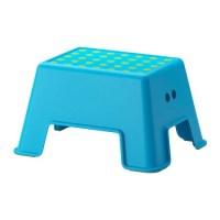BOLMEN Step stool - blue - IKEA
