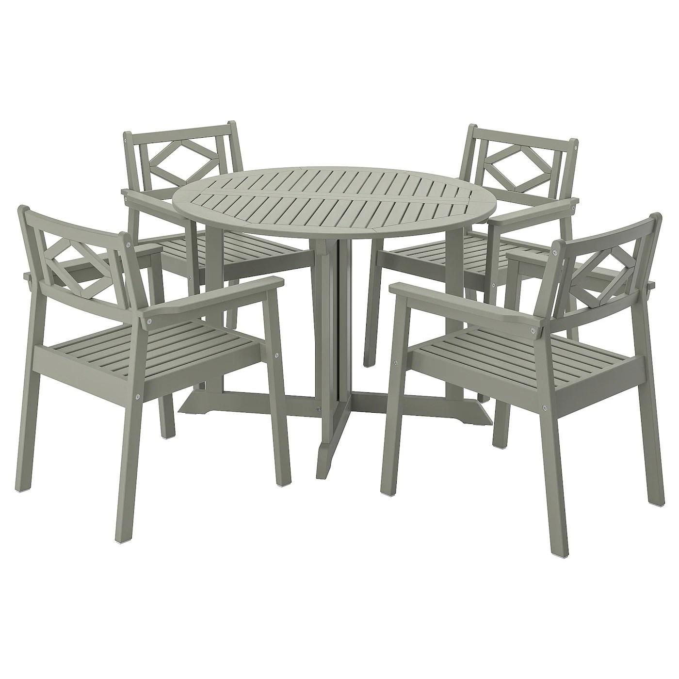 bondholmen table and 4 armchairs