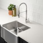 Bredsjon Apron Front Sink Under Glued Stainless Steel Ikea