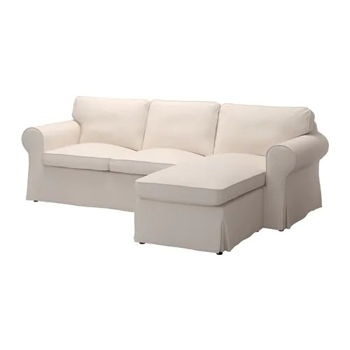 sofa w chaise wooden designs pictures latest ektorp with lofallet beige ikea