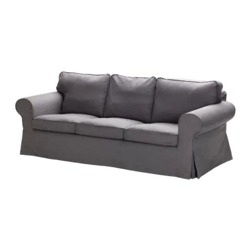 EKTORP Sofa IKEA Easy to keep clean with removable, dry clean only cover.