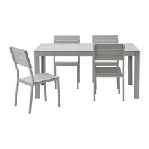 falster table and 4 chairs outdoor