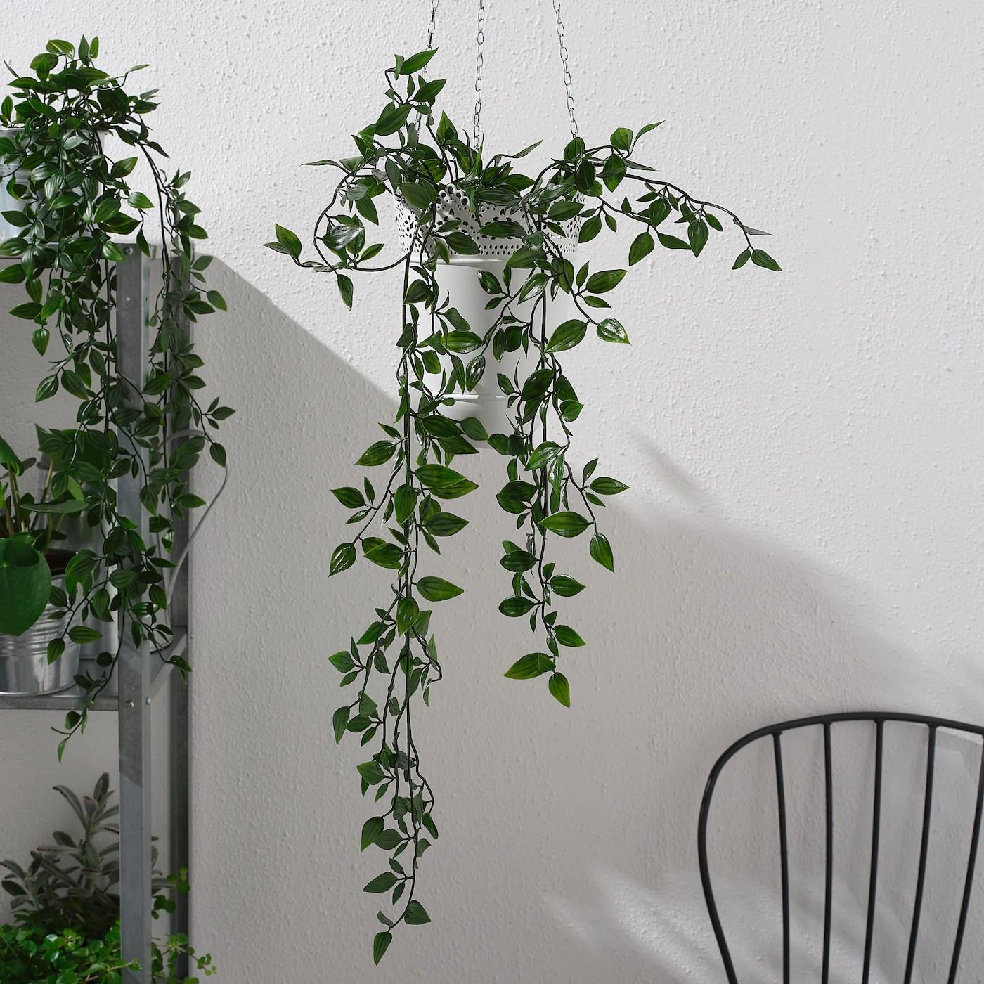 fejka artificial potted plant indoor outdoor hanging 3