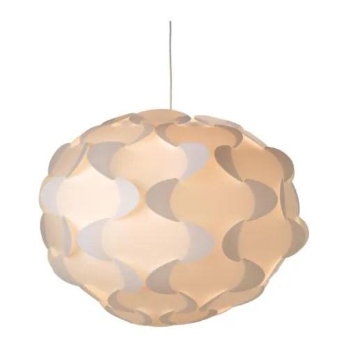 """FILLSTA Pendant lamp, white Diameter: 31 """" Cord length: 71 """"  Diameter: 78 cm Cord length: 180 cm"""