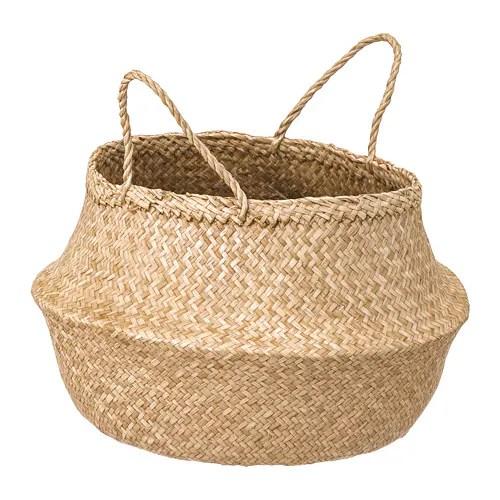 flÅdis basket seagrass