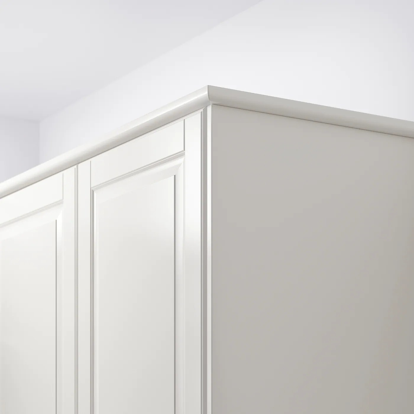 forbattra rounded deco strip off white 87