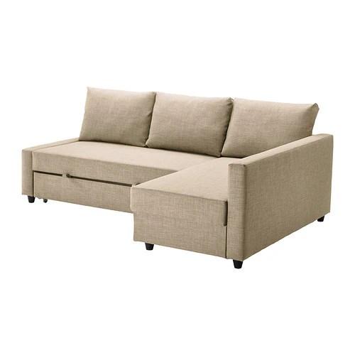 storage sectional sofa bed ultra modern leather set friheten sleeper 3 seat w skiftebo beige ikea