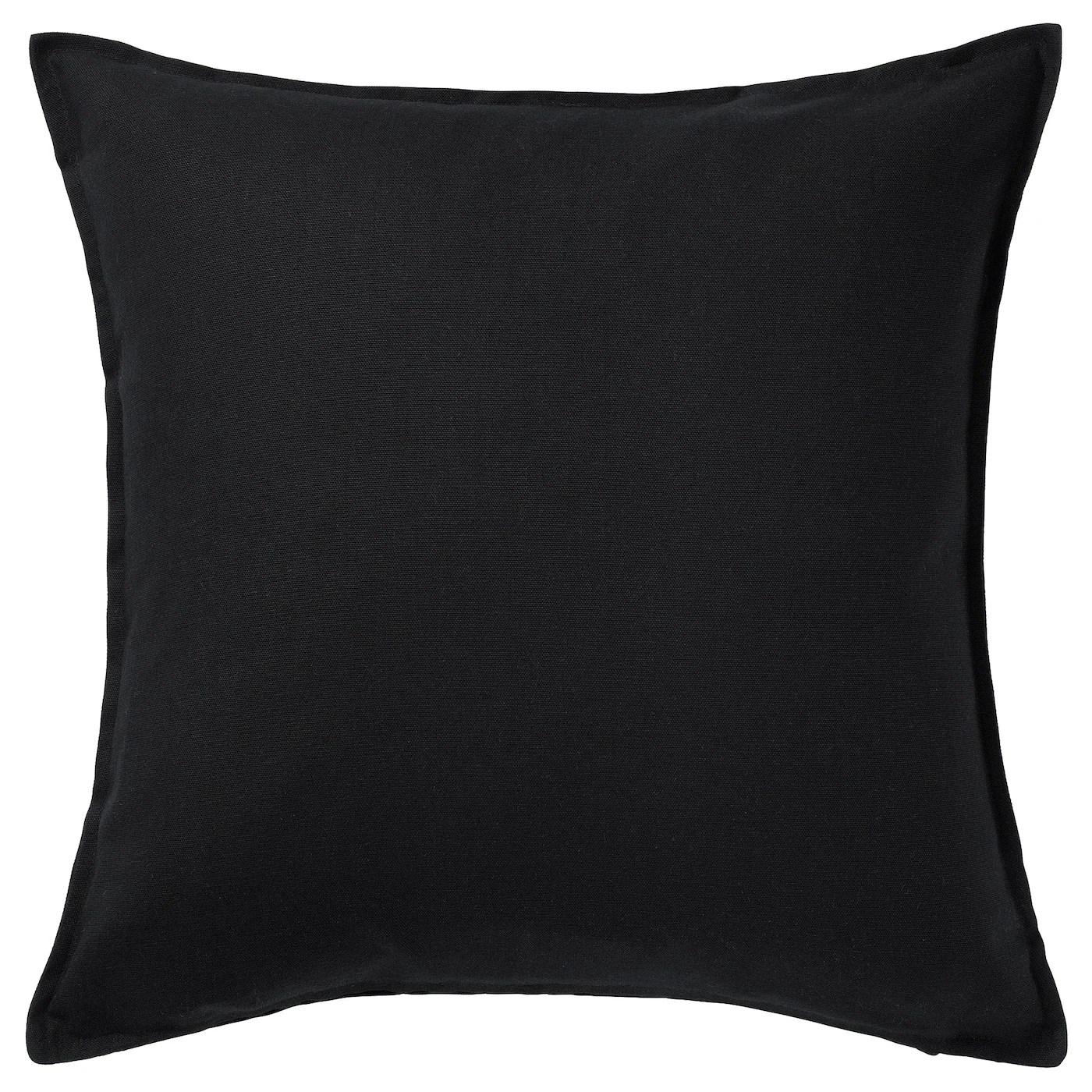 gurli cushion cover black 20x20