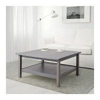 HEMNES Coffee table - dark gray stained - IKEA
