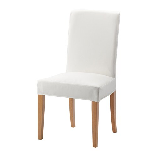 ikea long chair covers bar height pub table and chairs henriksdal - gräsbo white