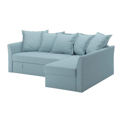 ikea sofa sleeper sectional cheap sofas toronto holmsund 3 seat orrsta light blue