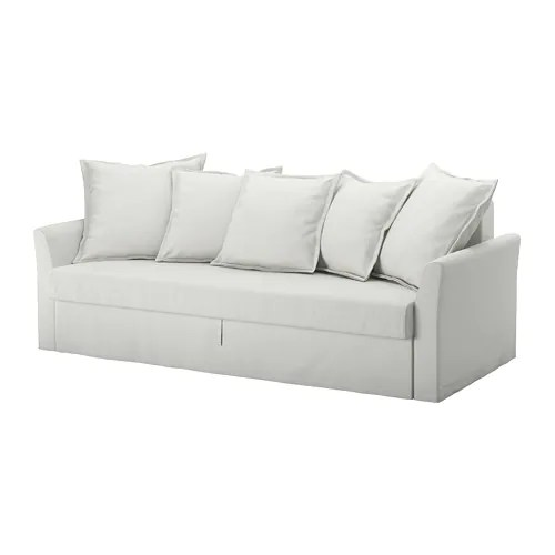living room sofa malaysia new set design 2017 holmsund sleeper - orrsta light white-gray ikea