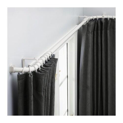 HUGAD Curtain Rod Combination Bay Window IKEA