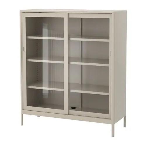 IDSEN Cabinet with sliding glass doors