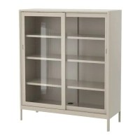 IDSEN Cabinet with sliding glass doors