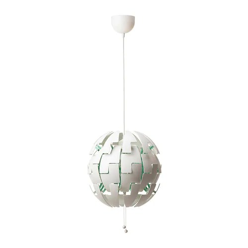 IKEA PS 2014 Pendant lamp IKEA You can easily switch between a brighter general light and a softer mood light by just pulling the strings.
