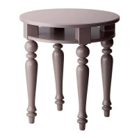 Gray & Lilac IKEA Isala Coffee, Side & Laptop Table Tables ...