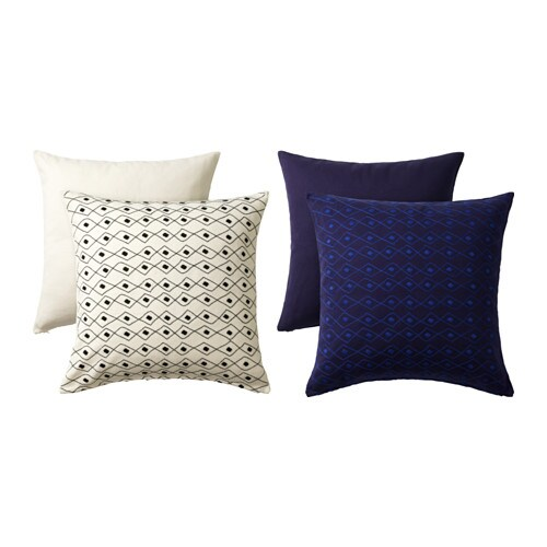 JASSA Cushion cover IKEA Embroidery adds texture and luster to the cushion.