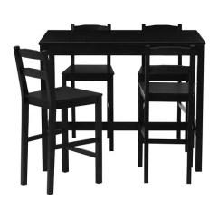 Ikea Kitchen Bar Under Cabinet Lighting Jokkmokk Table And 4 Stools