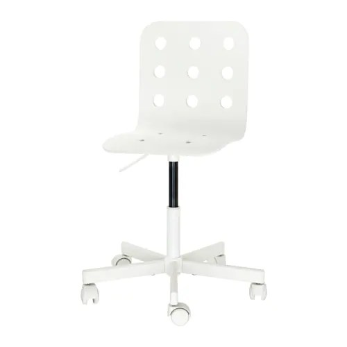 adjustable desk chairs swivel outdoor jules child s chair white ikea