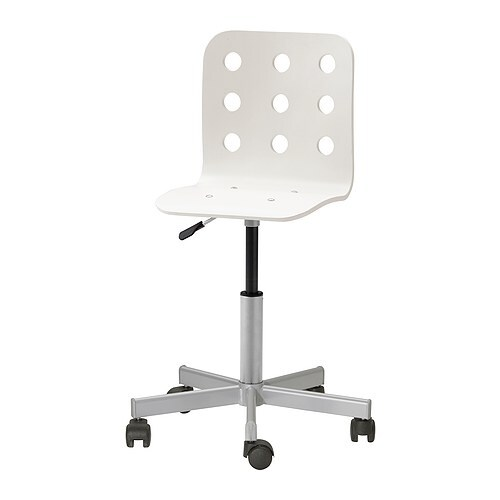 JULES Junior desk chair IKEA You sit comfortably since the chair is adjustable in height.