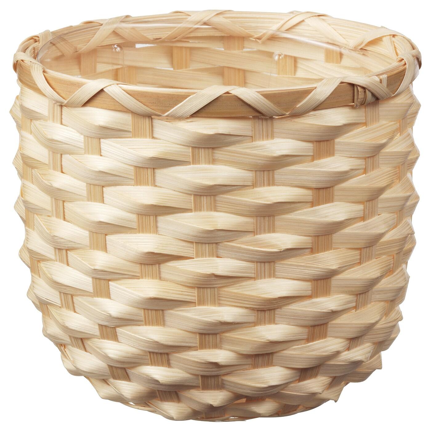 Kaffebona Plant Pot Bamboo Height 5 Ikea