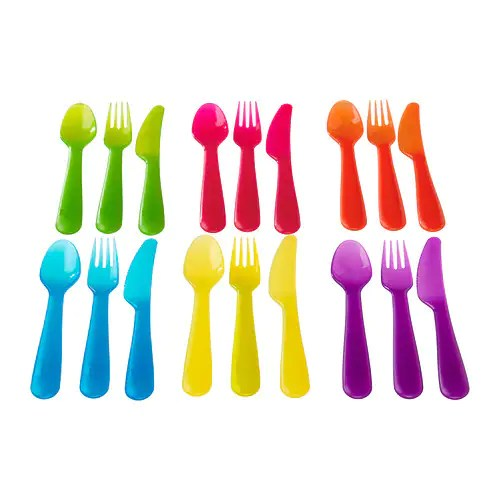 KALAS 18-piece flatware set IKEA