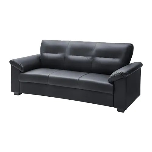 knislinge sofa idhult black review wooden set 5 seater - ikea